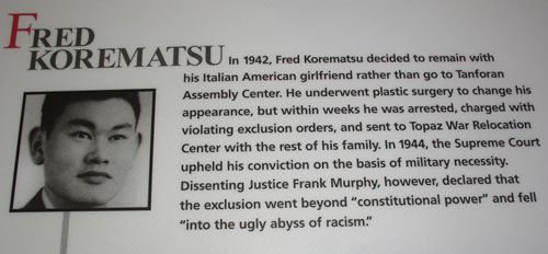 korematsu v united states essay Korematsu v united states (323 us 214) student's name course professor date korematsu v united states (323 us 214) fred korematsu was one of the americans of japanese descent.