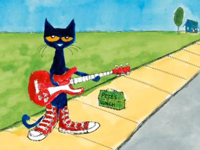 Pete the Cat, Rocking in My School Shoes