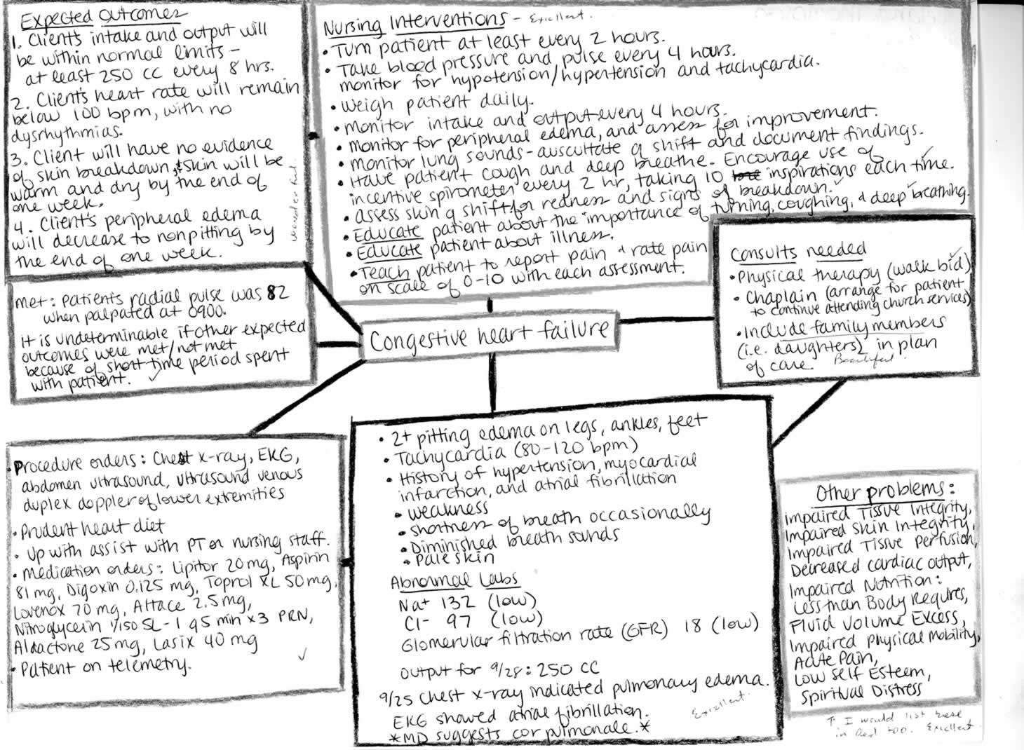 nursing concept maps templates tools of tqm