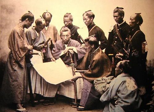 thr restructuring of japan during the meiji era Change was the currency of the meiji era all of this lay with the government during the early meiji and nationalism in meiji and imperial japan.